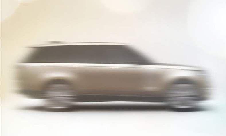 صورة تشويقية للسيارة رينج روفر 2022
