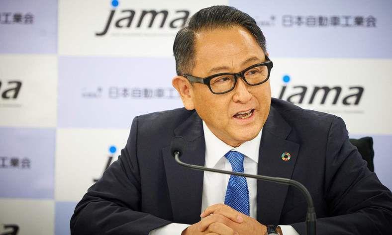 الرئيس التنفيذي لشركة تويوتا
