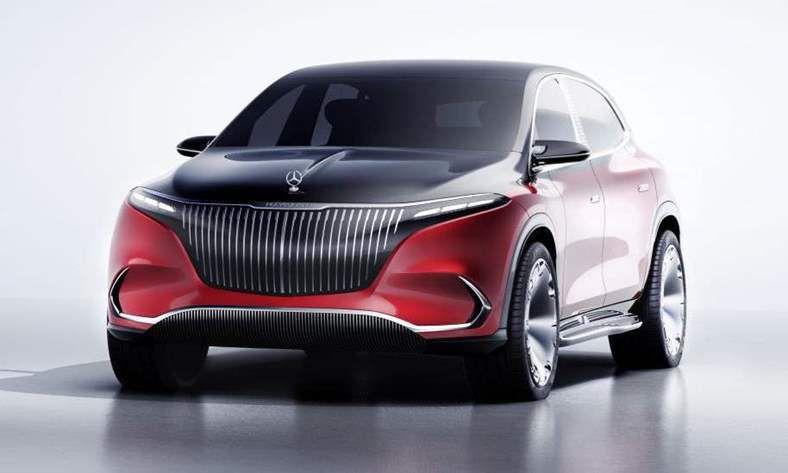 مرسيدس مايباخ تكشف عن SUV كهربائية جديدة