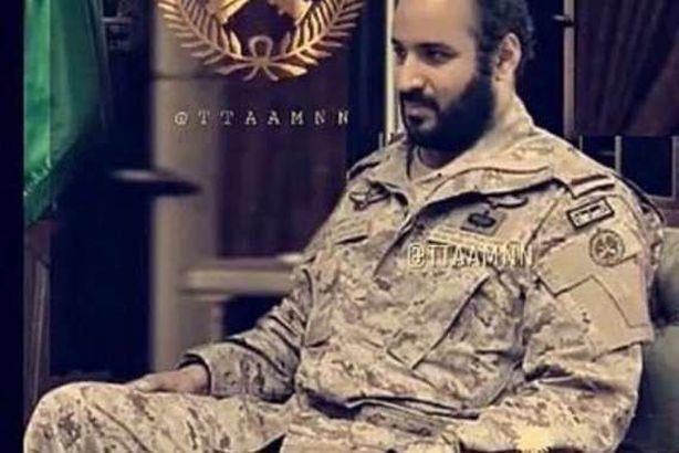 حقيقة صورة محمد بن سلمان بالزي العسكري المصريون